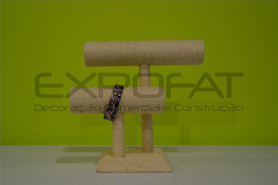 Expositor bege para Pulseiras / Relógios