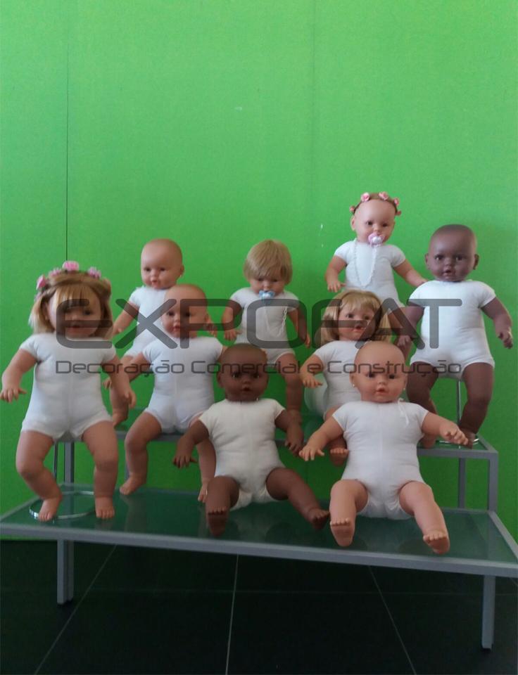 Manequins bébés