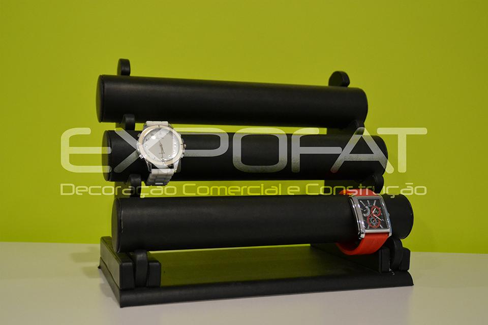 Expositor em veludo para Pulseiras / Relógios
